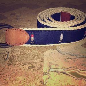 Polo by Ralph Lauren Light House Braided Belt